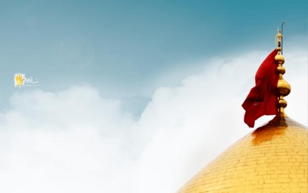 گنبد حرم امام حسین - کیفیت بالا